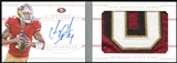2013 Panini National Treasures Jumbo Prime Booklet Signatures #8 Colin Kaepernick 16/25