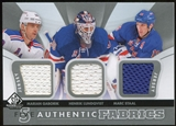 2012/13 SP Game Used Authentic Fabrics Fives Gaborik Henrik Lundqvist Marc Staal Kreider Derek Stepan