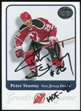 2001-02 Fleer Greats of the Game Autographs #11 Peter Stastny