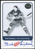 2001-02 Fleer Greats of the Game Autographs #74 Ted Lindsay