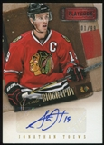2013-14 Panini Playbook AUTObiography #AUJTO Jonathan Toews 1/99