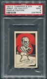 1947 D. Cummings & Sons Boxing #6 Jersey Joe Walcott Famous Fighters PSA 9 (MINT)