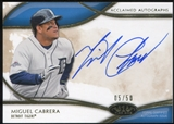 2014 Topps Tier One Acclaimed Autographs #AAMCA Miguel Cabrera 5/50