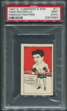 1947 D. Cummings & Sons Boxing #11 Tami Mauriello Famous Fighters PSA 9 (MINT) (OC)