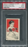 1947 D. Cummings & Sons Boxing #16 Ronnie Clayton Famous Fighters PSA 9 (MINT) (OC)