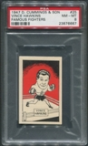 1947 D. Cummings & Sons Boxing #25 Vince Hawkins Famous Fighters PSA 8 (NM-MT)