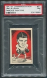 1947 D. Cummings & Sons Boxing #27 Jake Kilrain Famous Fighters PSA 7 (NM)