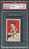 1947 D. Cummings & Sons Boxing #28 Willie Pep Famous Fighters PSA 8.5 (NM-MT+)