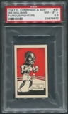 1947 D. Cummings & Sons Boxing #31 Ike Williams Famous Fighters PSA 8.5 (NM-MT+)