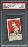 1947 D. Cummings & Sons Boxing #35 Henry Armstrong Famous Fighters PSA 9 (MINT) (OC)