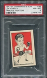 1947 D. Cummings & Sons Boxing #36 Len Harvey Famous Fighters PSA 8 (NM-MT)