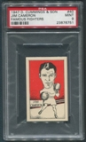 1947 D. Cummings & Sons Boxing #40 Jim Cameron Famous Fighters PSA 9 (MINT)