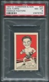 1947 D. Cummings & Sons Boxing #43 Dick Turpin Famous Fighters PSA 8 (NM-MT)