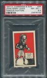 1947 D. Cummings & Sons Boxing #48 John Henry Lewis Famous Fighters PSA 8.5 (NM-MT+)