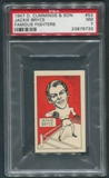 1947 D. Cummings & Sons Boxing #52 Jackie Bryce Famous Fighters PSA 7 (NM)