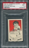 1947 D. Cummings & Sons Boxing #56 Jock McAvoy Famous Fighters PSA 7.5 (NM+)