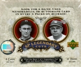 2006 Upper Deck SP Legendary Cuts Baseball Hobby Box