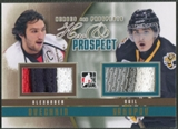 2011/12 ITG Heroes and Prospects #HP10 Alexander Ovechkin & Nail Yakupov Hero and Prospect Gold Jersey /10