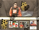 2006 Press Pass VIP Racing Hobby Box