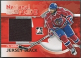 2010/11 ITG Heroes and Prospects #NATP08 P.K. Subban National Pride Black Jersey /80