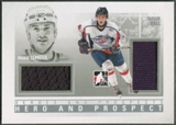 2009/10 ITG Heroes and Prospects #HP04 Mario Lemieux & Taylor Hall Hero and Prospect Jersey /30