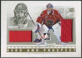 2009/10 ITG Heroes and Prospects #HP01 Patrick Roy & Carey Price Hero and Prospect Gold Jersey /10