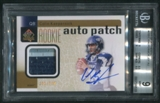 2011 SP Authentic #233 Colin Kaepernick Rookie Patch Auto #282/699
