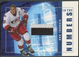 2001/02 BAP Signature Series #ITN10 Ron Francis In The Numbers Patch /10