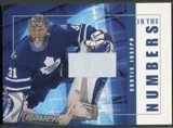 2001/02 BAP Signature Series #ITN24 Curtis Joseph In The Numbers Patch /10