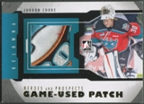 2012/13 ITG Heroes and Prospects #M08 Jordon Cooke Gold Jersey Patch /5