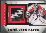 2012/13 ITG Heroes and Prospects #M44 Robin Gusse Gold Jersey Patch /5