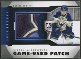 2012/13 ITG Heroes and Prospects #M02 Daniel Audette Gold Jersey Patch /5