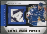 2012/13 ITG Heroes and Prospects #M39 Brendan Ranford Jersey Patch /5