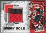 2010/11 ITG Heroes and Prospects #SSM34 Tyler Seguin Subway Series Gold Jumbo Jersey /10
