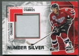 2010/11 ITG Heroes and Prospects #CRM32 Steven Stamkos Subway Series Silver Number /3
