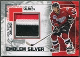 2010/11 ITG Heroes and Prospects #CRM32 Steven Stamkos Subway Series Silver Emblem /3