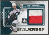 2010/11 ITG Heroes and Prospects #M10 Cody Hodgson Game Used Gold Jersey /10