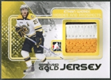 2010/11 ITG Heroes and Prospects #M13 Ethan Werek Game Used Gold Jersey /10