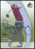 2014 Upper Deck SP Game Used Buyback Autographs #SP1 Rory McIlroy 5/5