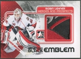 2010/11 ITG Heroes and Prospects #M55 Robin Lehner Game Used Black Emblem /6