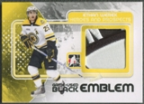 2010/11 ITG Heroes and Prospects #M13 Ethan Werek Game Used Black Emblem /6