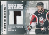 2010/11 ITG Heroes and Prospects #DDSM05 Dougie Hamilton Draft Star Black Emblem /6