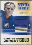 2010/11 Between The Pipes #M69 Ed Giacomin Game Used Gold Jersey /10