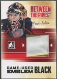 2010/11 Between The Pipes #M47 Pascal Leclaire Game Used Black Emblem /6