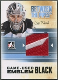 2010/11 Between The Pipes #M04 Chet Pickard Game Used Black Emblem /6