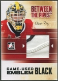 2010/11 Between The Pipes #M46 Olivier Roy Game Used Black Emblem /6