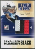 2010/11 Between The Pipes #M03 Calvin Pickard Game Used Black Number /6