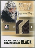 2010/11 Between The Pipes #M39 Marc-Andre Fleury Game Used Black Number /6