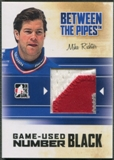 2010/11 Between The Pipes #M37 Mike Richter Game Used Black Number /6