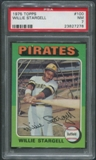 1975 Topps Baseball #100 Willie Stargell PSA 7 (NM)